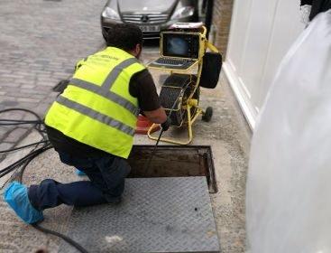 CCTV Drain Survey in Hertfordshire